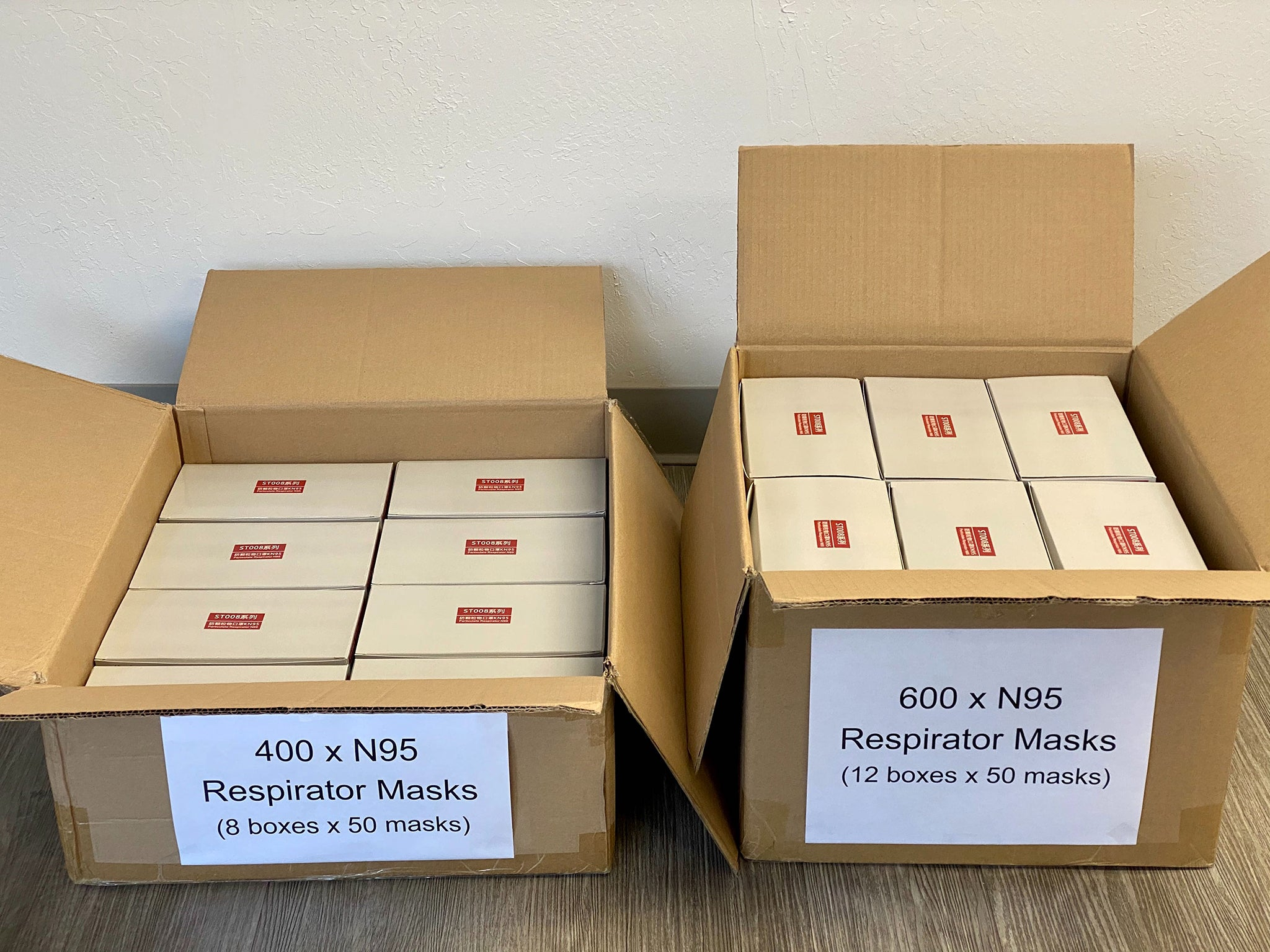 1,000 N95 masks donated