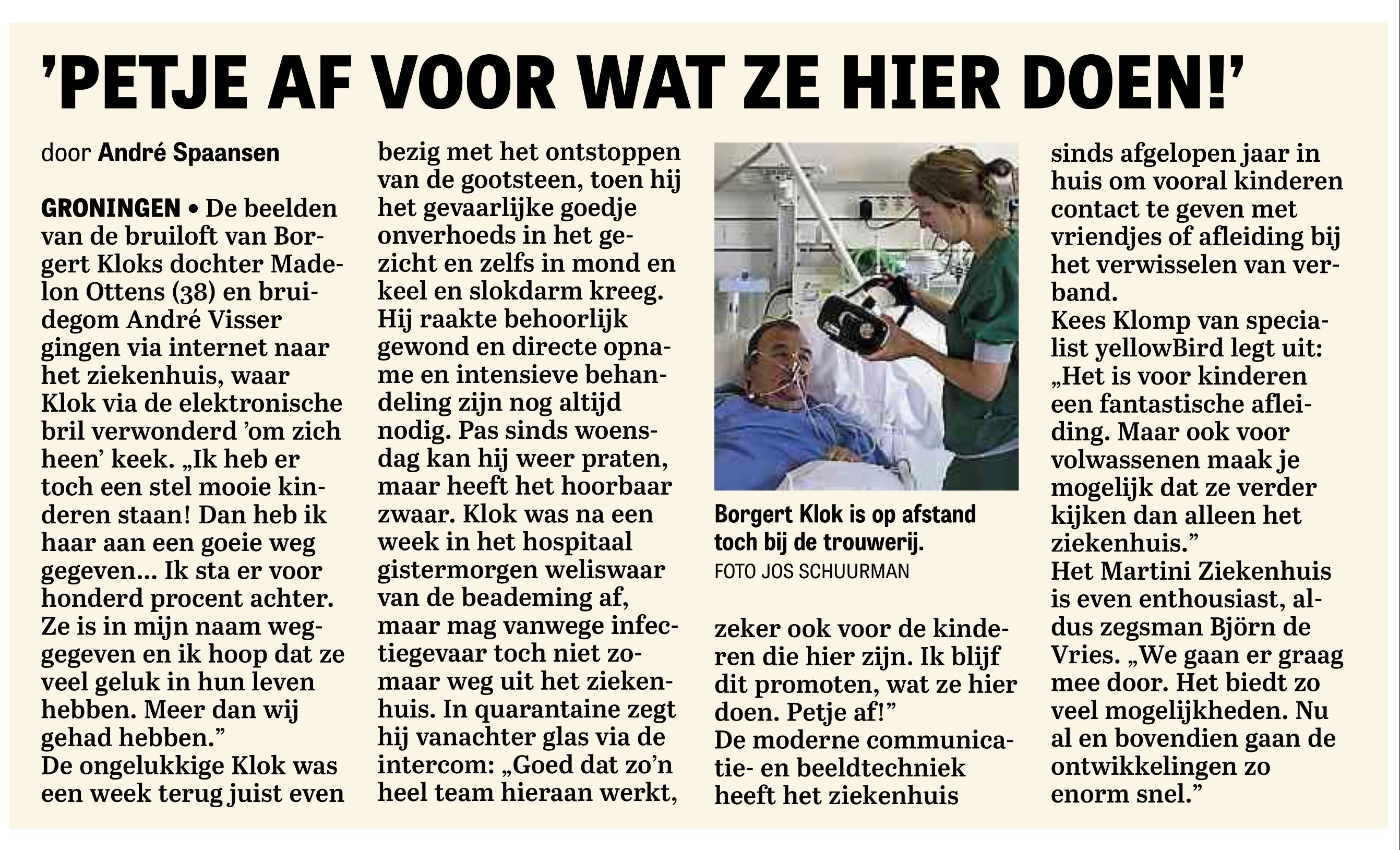 HyperVR used in patient medical therapy in Netherlands hospitals