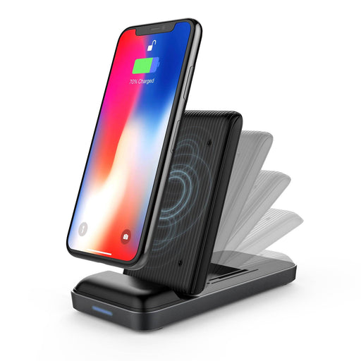 HyperJuice Wireless Charger Stand — 5/7.5/10W Qi Charger