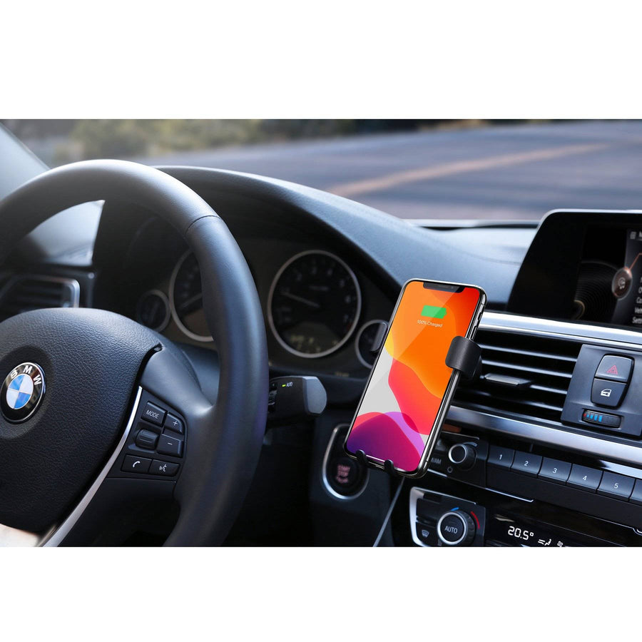 HyperJuice Wireless Car Charger — 5/7.5/10W Qi Charger