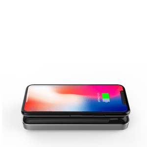 HyperJuice Wireless Charger Stand — Qi wireless charging stand for iPhone, Samsung, and all smartphones.