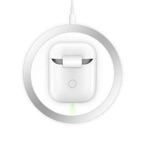 HyperJuice Wireless Charger AirPod Case — Turn any 1st or 2nd Gen AirPods charging case into a wireless charging case.