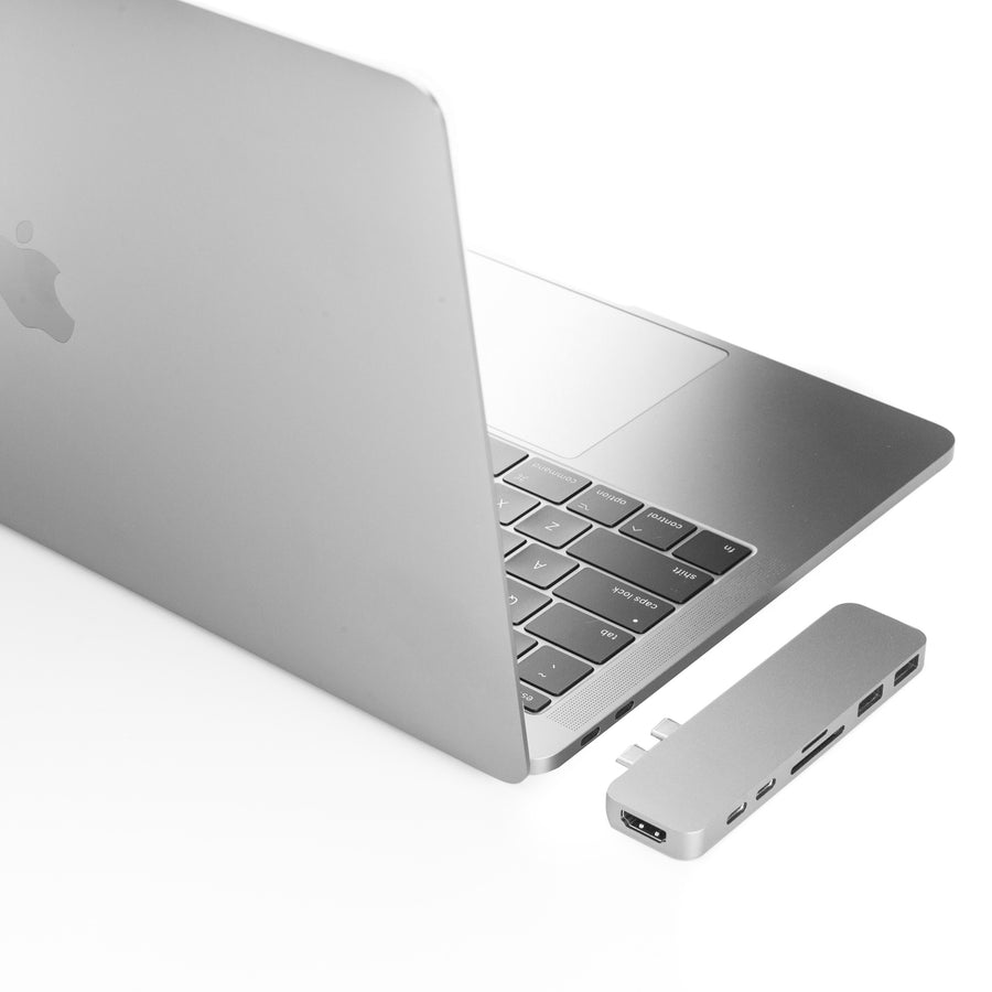 HyperDrive DUO 7-in-2 USB-C Hub with Thunderbolt 3 for MacBook