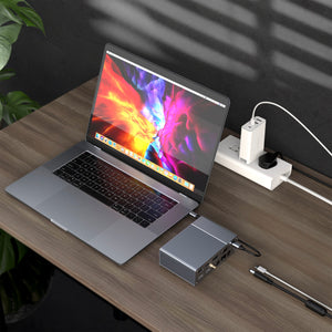 HyperDrive GEN2 18-Port USB-C Hub — 2X Speed & Power: Universal USB-C docking station for MacBook, Chromebook, and PC