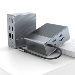 HyperDrive GEN2 12-Port USB-C Docking Station