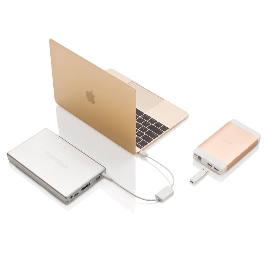 HyperJuice MagicBox 100W USB-C Portable Charging for MacBook
