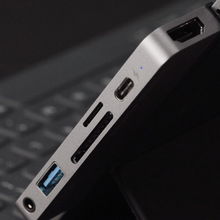 Load and play video in Gallery viewer, HyperDrive 6-in-1 USB-C Hub