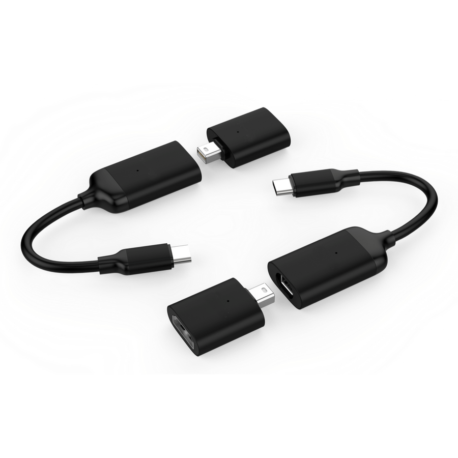 Hyperdrive Usb C Hubs With Mini Displayport Tagged Cable Connection Usbcablewiringpng To 4k60hz Hdmi Adapter Black