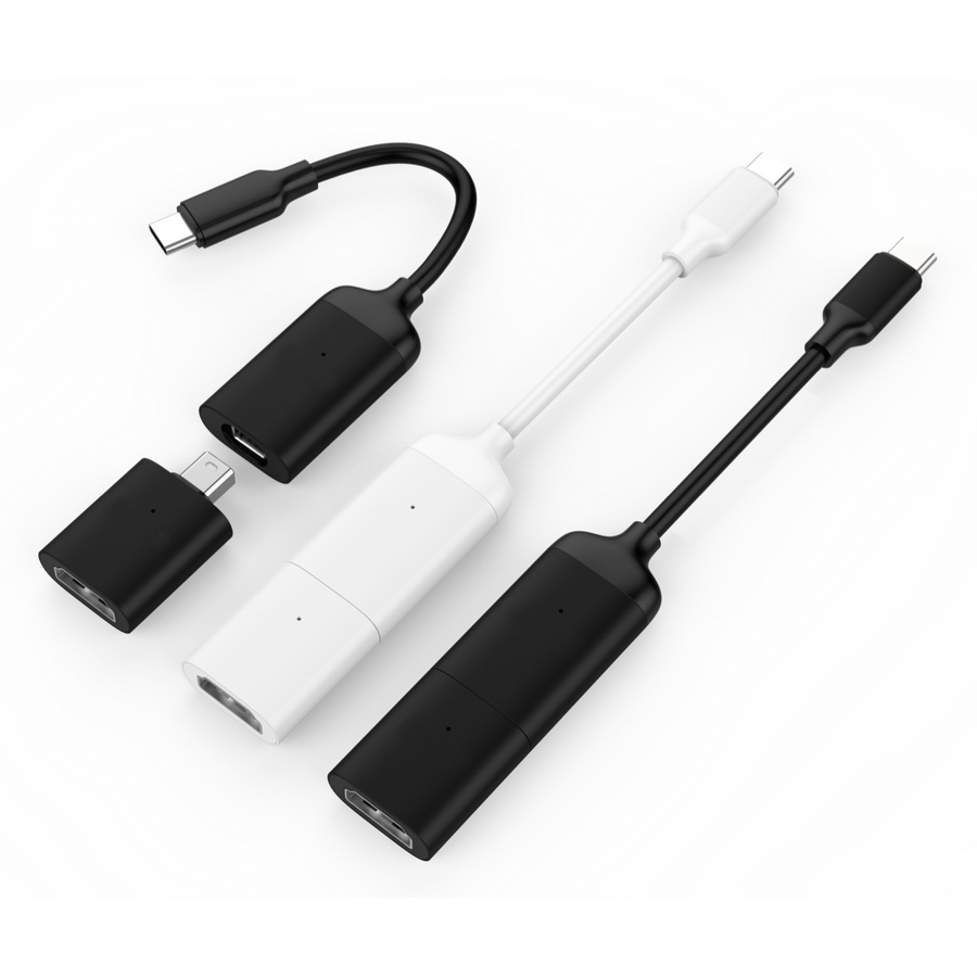 HyperDrive USB-C to HDMI & Mini DisplayPort Adapter