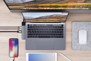 HyperDrive NET 6-in-2 for MacBook Pro/Air — Add 6 ports including Gigabit Ethernet to MacBook Pro & MacBook Air