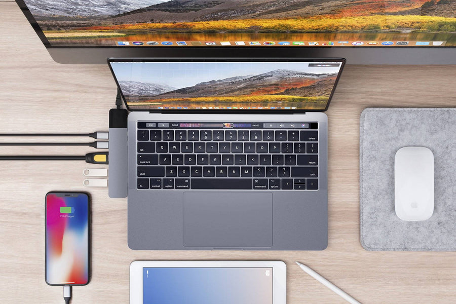 HyperDrive NET 6-in-2 — USB-C Hub for MacBook Pro / Air