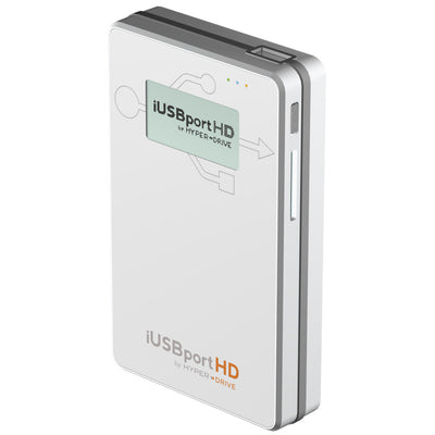 HyperDrive iUSBport HD - Wireless Hard Drive & USB port for iPhone, iPad & Android , Storage - HyperDrive, HyperShop  - 3