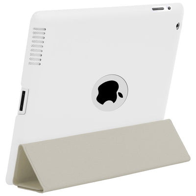 HyperShield Leather Logo Back Cover for iPad 2nd/3rd/4th Generation White, Case - HyperShield, HyperShop  - 9