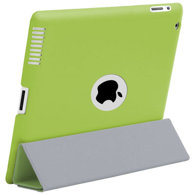 HyperShield Leather Logo Back Cover for iPad 2nd/3rd/4th Generation Green, Case - HyperShield, HyperShop  - 4