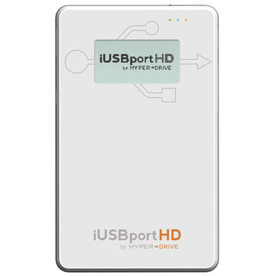 HyperDrive iUSBport HD - Wireless Hard Drive & USB port for iPhone, iPad & Android , Storage - HyperDrive, HyperShop  - 1