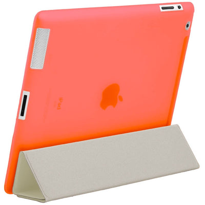 "HyperShield ""Glow In The Dark"" Soft Back Cover for iPad 2nd/3rd/4th Generation Peach, Case - HyperShield, HyperShop  - 3"