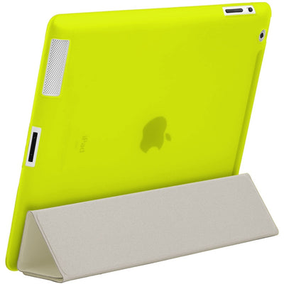 "HyperShield ""Glow In The Dark"" Soft Back Cover for iPad 2nd/3rd/4th Generation Yellow, Case - HyperShield, HyperShop  - 7"