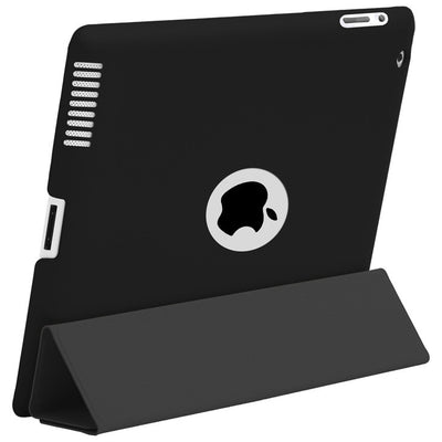 HyperShield Leather Logo Back Cover for iPad 2nd/3rd/4th Generation Black, Case - HyperShield, HyperShop  - 1