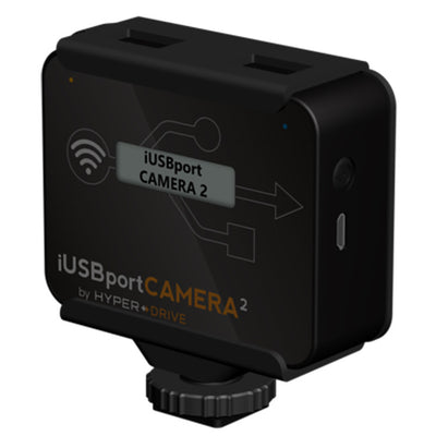 HyperDrive iUSBportCAMERA 2 - Canon/Nikon DSLR Wireless Tether to iPhone, iPad, Android, Mac & PC , Storage - HyperDrive, HyperShop  - 2