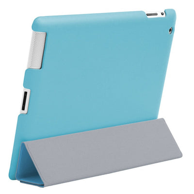 HyperShield Snap-on Back Cover for iPad 2 Blue, Case - HyperShield, HyperShop  - 2