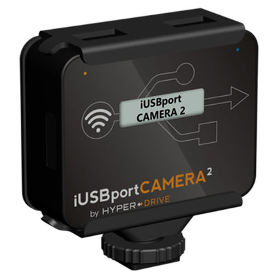 HyperDrive iUSBportCAMERA 2 - Canon/Nikon DSLR Wireless Tether to iPhone, iPad, Android, Mac & PC , Storage - HyperDrive, HyperShop  - 1