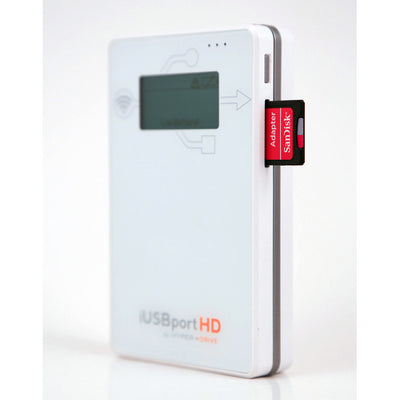 HyperDrive iUSBport HD - Wireless Hard Drive & USB port for iPhone, iPad & Android , Storage - HyperDrive, HyperShop  - 6