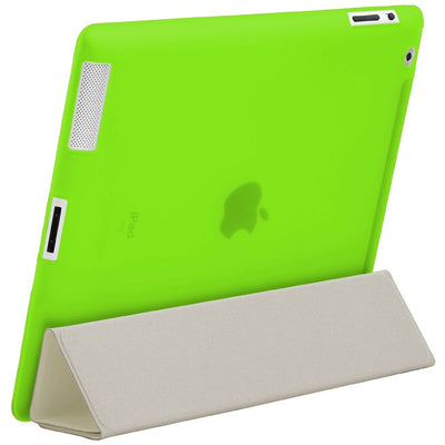 "HyperShield ""Glow In The Dark"" Soft Back Cover for iPad 2nd/3rd/4th Generation Green, Case - HyperShield, HyperShop  - 2"