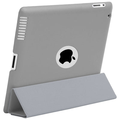 HyperShield Leather Logo Back Cover for iPad 2nd/3rd/4th Generation Gray, Case - HyperShield, HyperShop  - 3