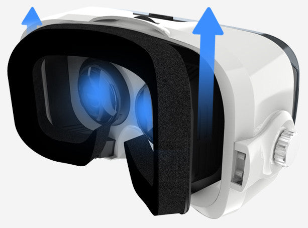 HyperVR Headset (video only) for iPhone & Android