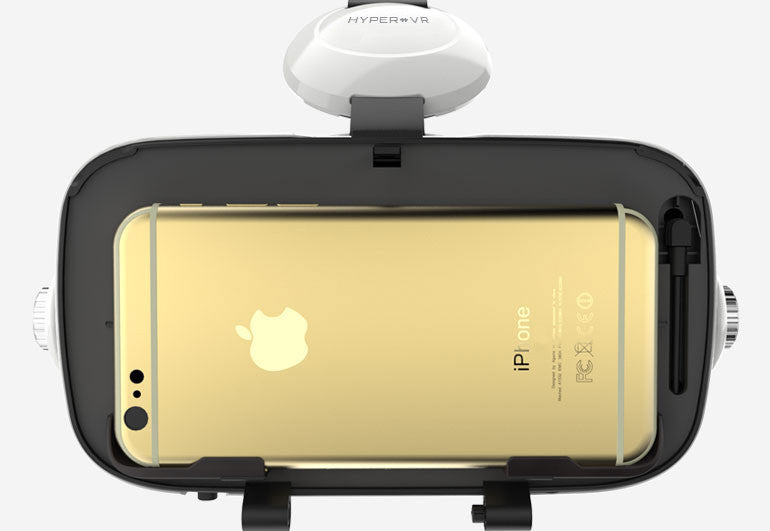 Virtual Reality Headset Audio Video For Iphone Android Hypervr