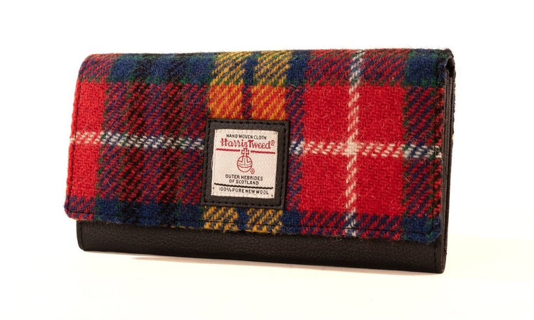 Harris Tweed - Ladies Envelope Purse - Saffron