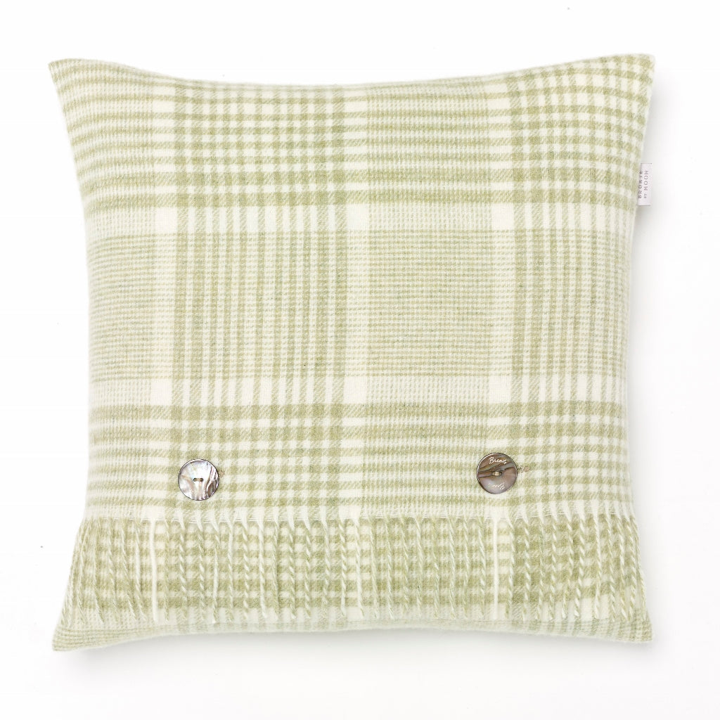 Prince of Wales Sage Pillow