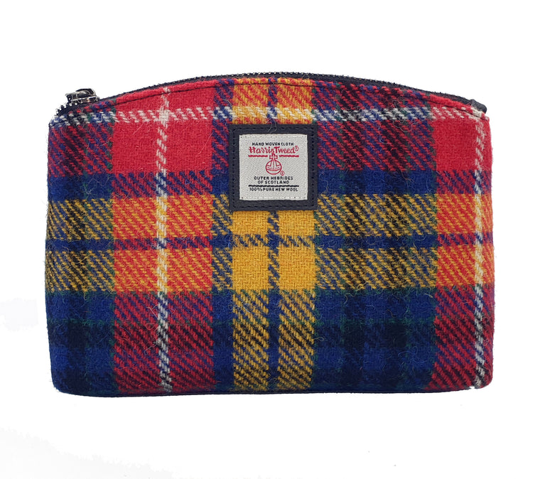 Harris Tweed - Cosmetic Bag - Saffron