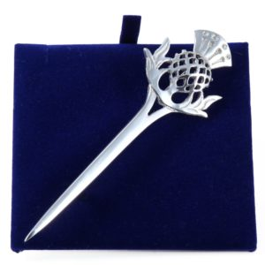 Lady Ann of Glencoe - Pin Collection - Single Thistle Kilt Pin