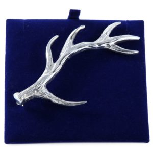 Lady Ann of Glencoe - Pin Collection - Stag's Horn Kilt Pin - Polished Finish
