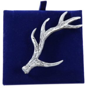 Lady Ann of Glencoe - Pin Collection - Stag's Horn Kilt Pin - Matt Finish