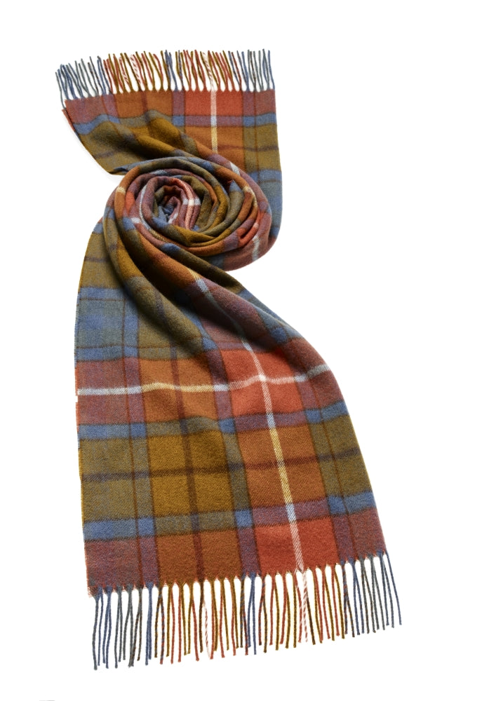 Blanket Scarf - Shawl - Stole - Wrap - Tartan - Antique Buchanan
