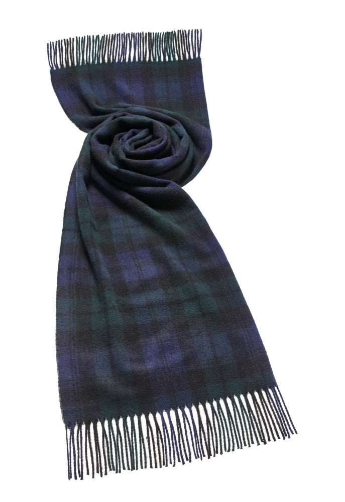 Blanket Scarf - Shawl - Stole - Wrap - Tartan - Black Watch