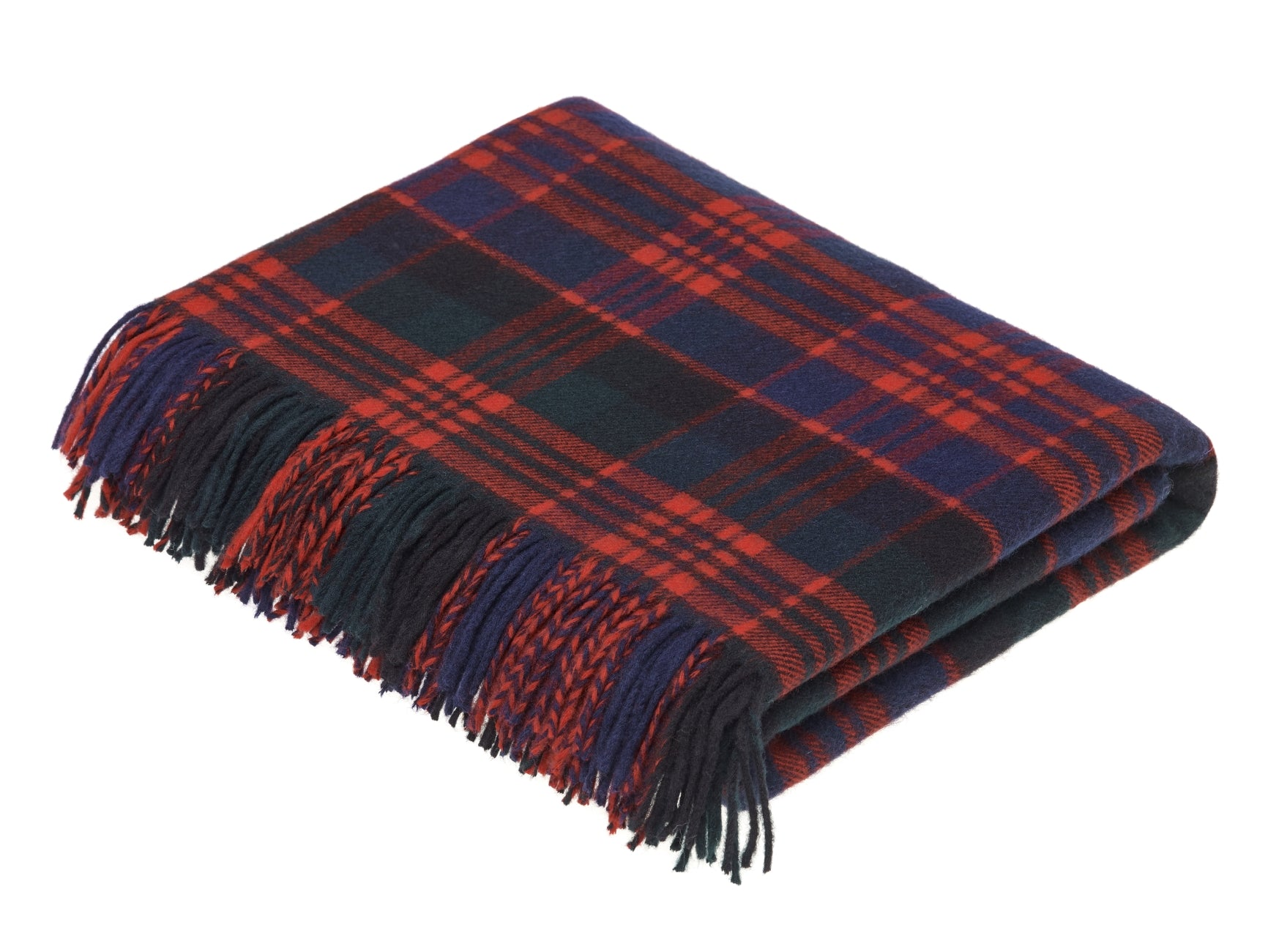 Tartan - Merino Lambswool - MacDonald - Throw Blanket ff73d404e