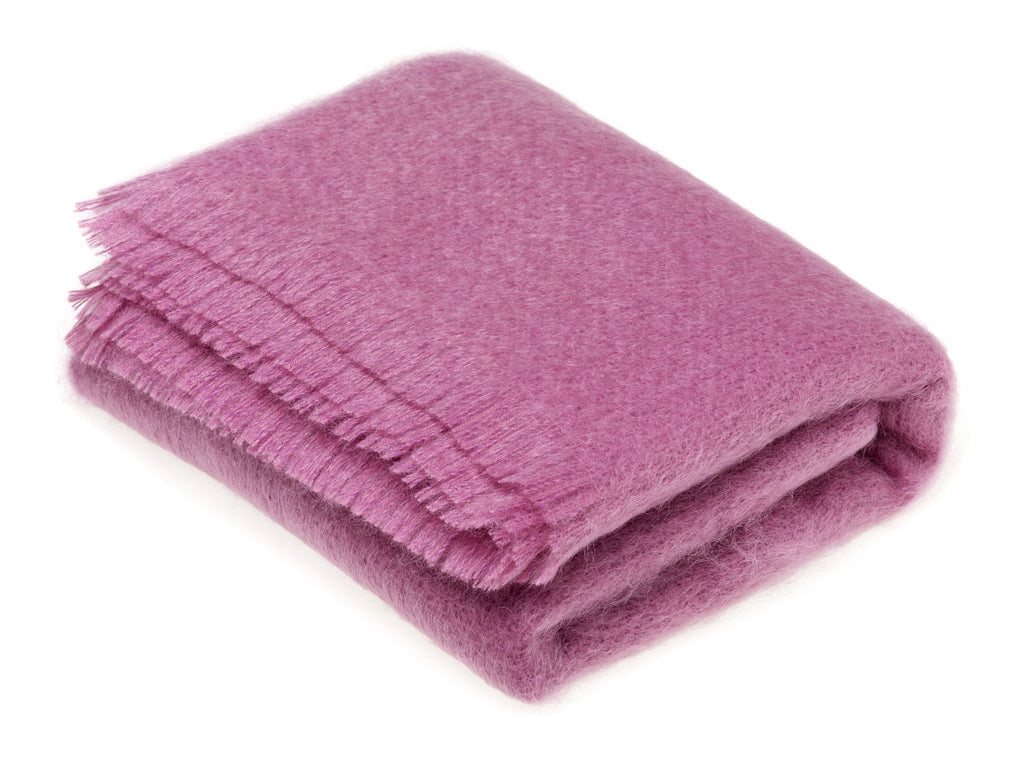 Luxury Mohair Heather Throw