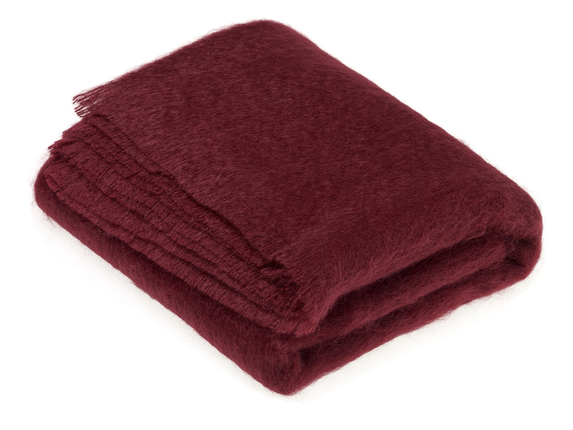 Luxury Mohair Vintage Throw Blanket