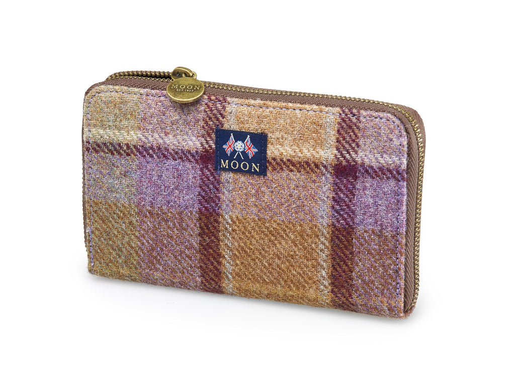 Country Check Purse - Bronte by Moon