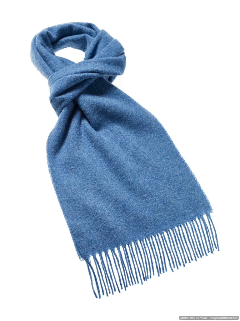 Luxury Plain Oceano Scarf