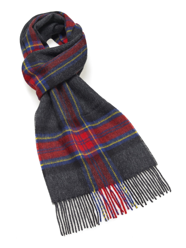 Middleham Charcoal Scarf