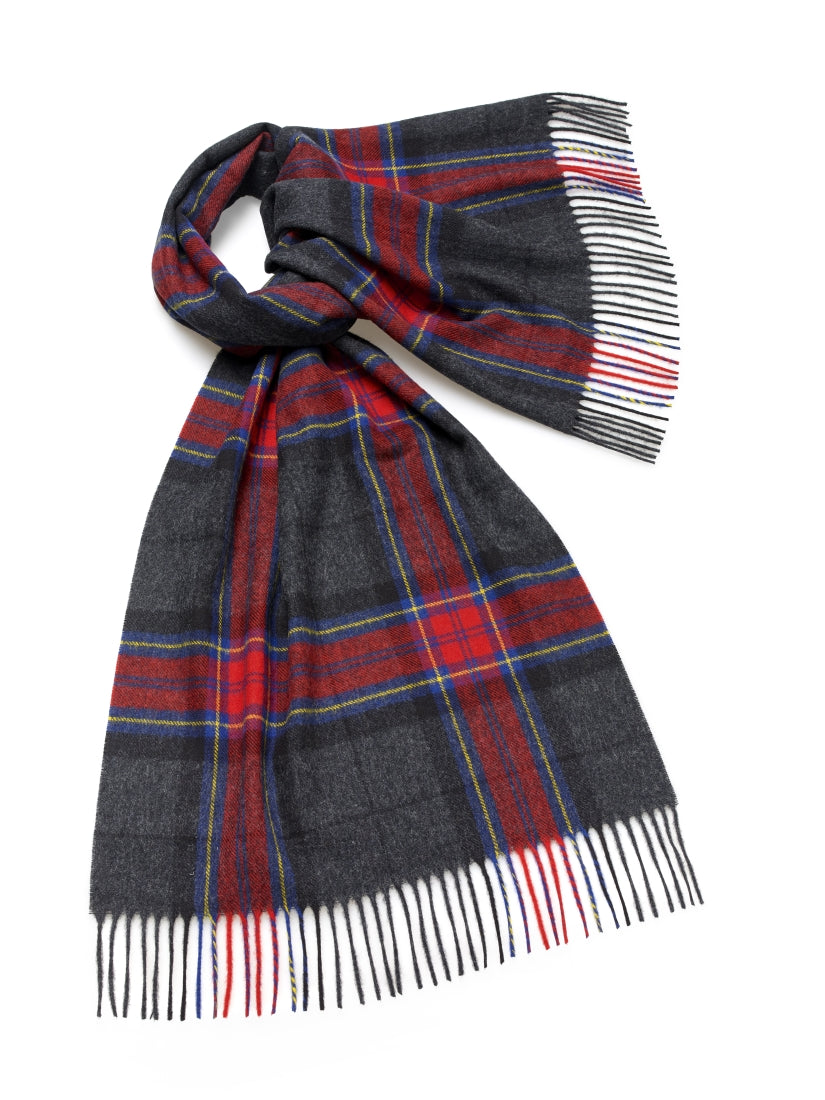 Blanket Scarf - Shawl - Stole - Wrap - Middleham - Charcoal