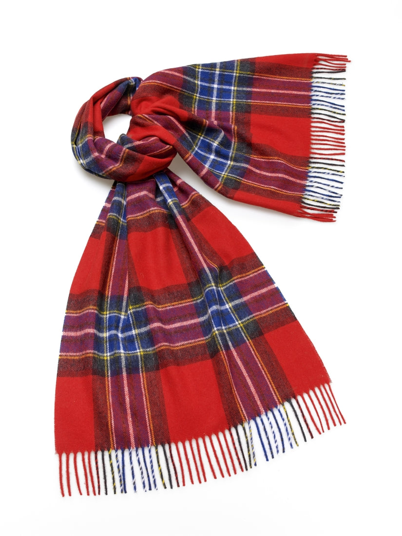 Blanket Scarf - Shawl - Stole - Wrap - Scampston - Red