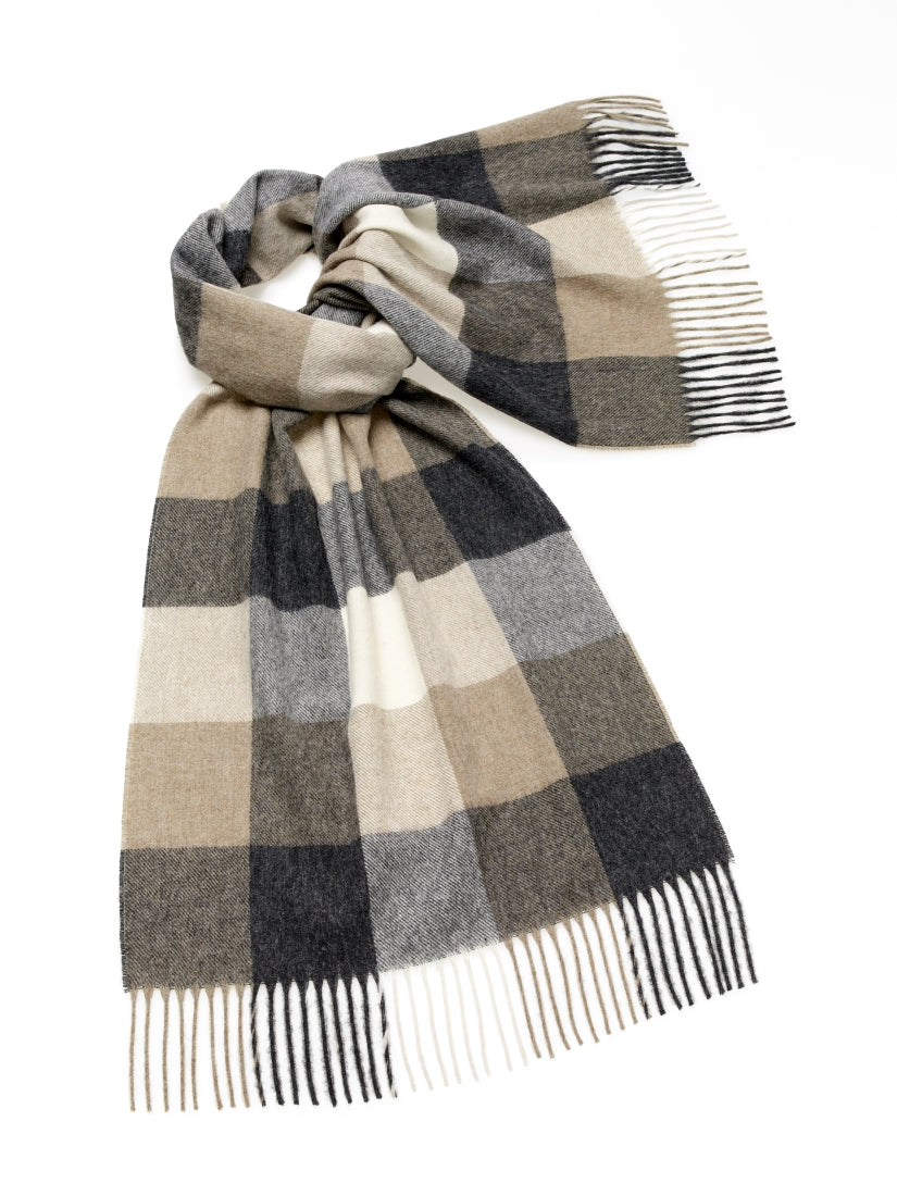 Blanket Scarf - Shawl - Stole - Wrap - Sledmere - Neutral