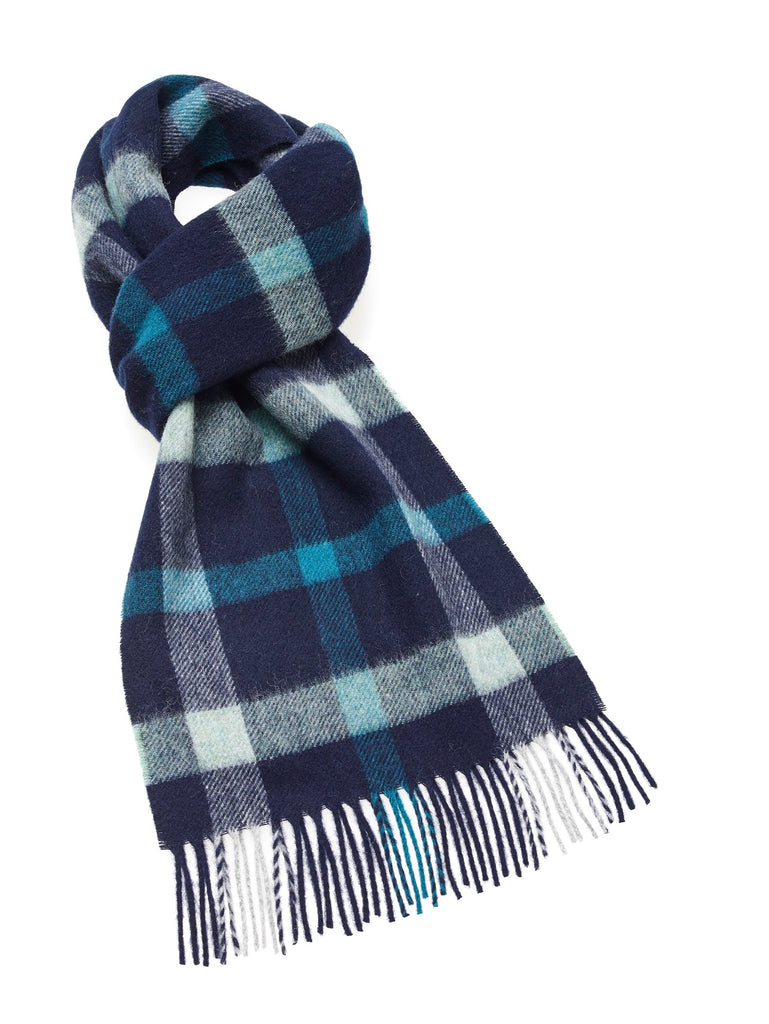 Blyth Sea Scarf - Merino Lambswool - Made in England