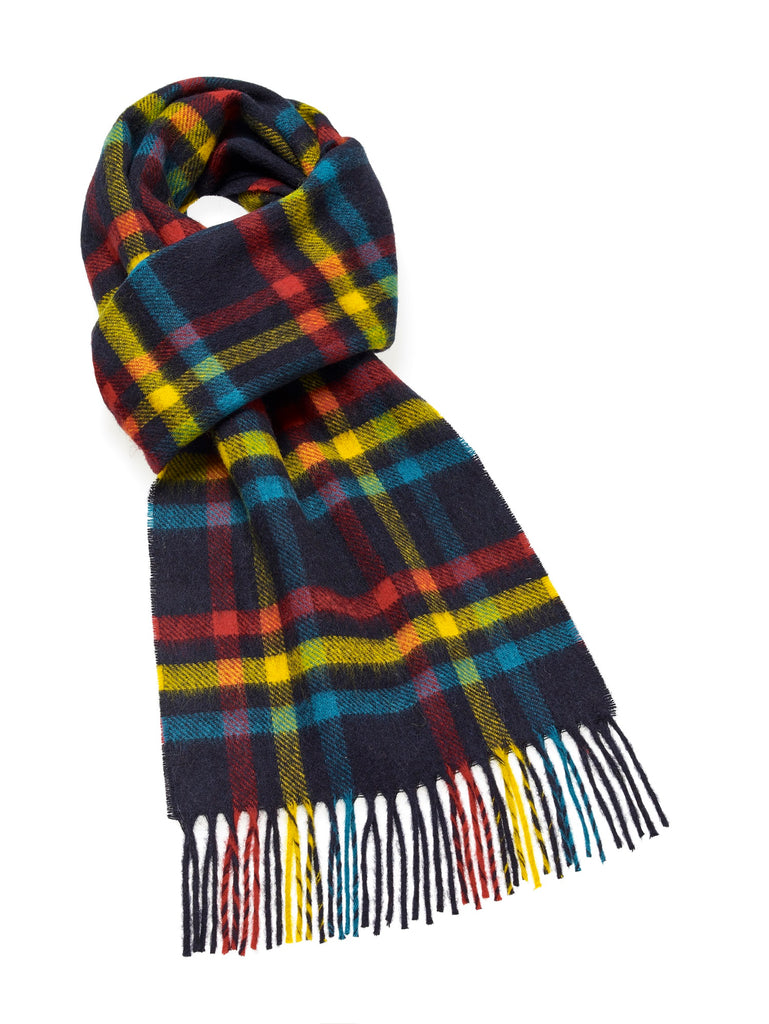 Glastonbury Circus Scarf - Merino Lambswool - Made in England