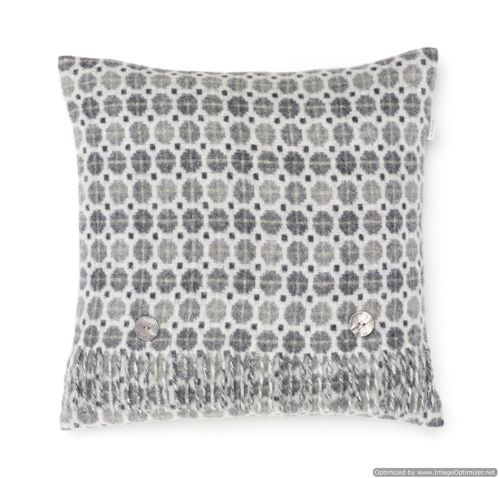 Merino Lambswool - Milan Gray - Pillow